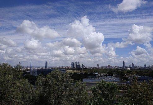 Tel Aviv, Israel, Tel-aviv, Building, Cityscape