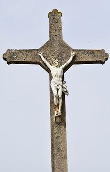 Cross, Christ, Jesus On The Cross, Religion