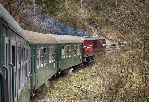 Train, Narrow Gauge Railway, Diesel Locomotive, Railway