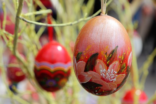 Easter Eggs, Colorful, Decoration, Holiday, Tradition
