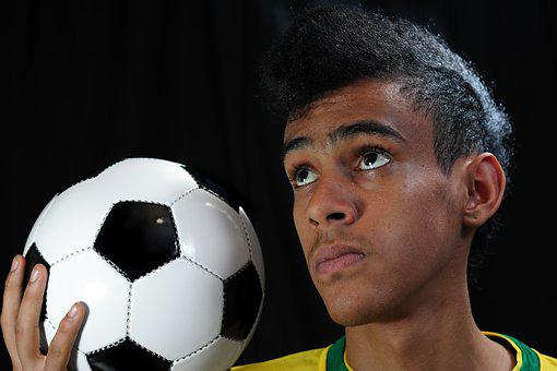 Soccer, Football, Player, Brazil, Sport, Competition