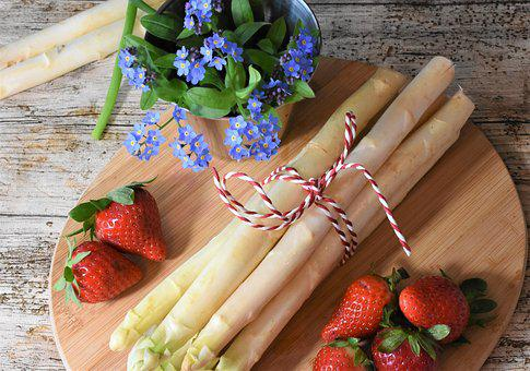 Asparagus, Spring, Market, Food, Garden, Eat
