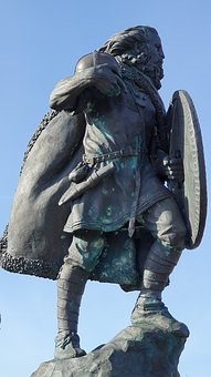 Viking, Statue, Haugesund, Vikingage, Harald Fairhair