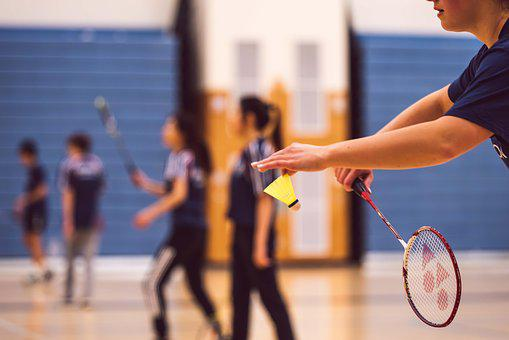 Badminton, Bat, Activity, Leisure, Play, Health