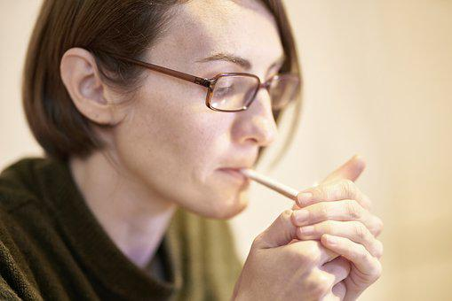 Woman, Cigarette, Beautiful, Model, Pose, Face