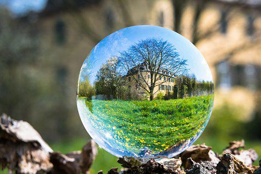Glass Ball, Castle, Ball, Property, Possession