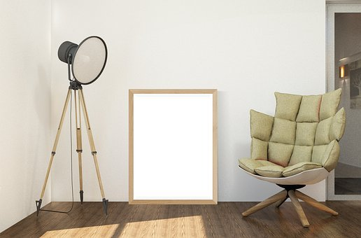 Interior, Frame, Poster, Furniture, Lamp, Chair