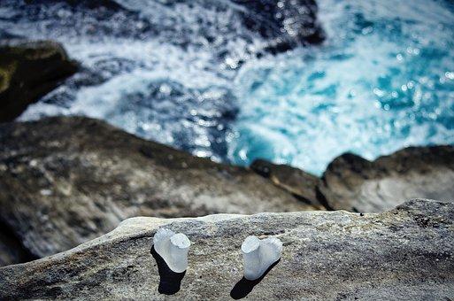 Ocean, Cliff, Coast, Water, Shoreline, Blue, Waves