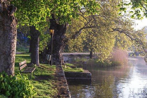 Lake, Kastoria, Greece, Nature, Landscape, Water, Sky