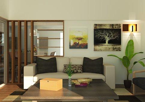 Interior, Furniture, Sofa, Living Room, Decoration