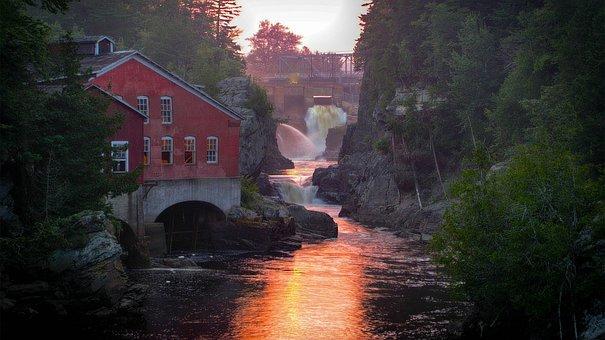 Mill, St, George, Nb, Canada, New Brunswick, Ocean