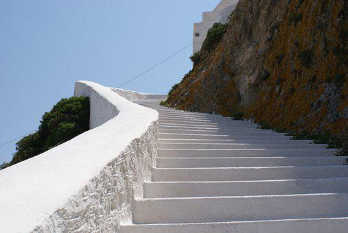 Stairs, Serifos, Greece