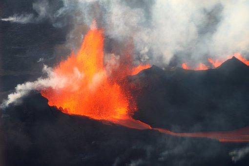 Bardabunga, Iceland, Volcano, Hot, Steam