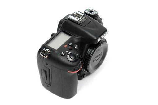 Camera, Nikon, Dslr, Digital, Technology, Japan