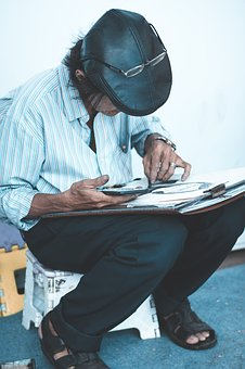 Painter, Painting, Earn A Living, The Artist, Drawings