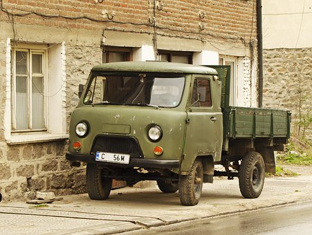 Uaz 452, Made In Ussr, Russian, Transportation, Old