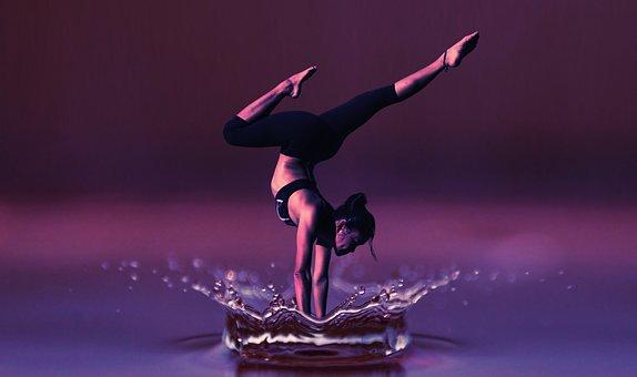 Dance, Yoga, Meditation, Woman, Fitness, Health