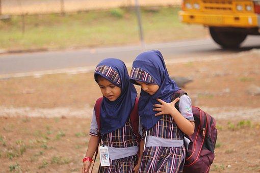 Zaharatul Quran, Islamic Girl, Girls, School Baby