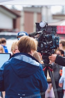 Reporter, News, Journalist, Tv, Channel, City