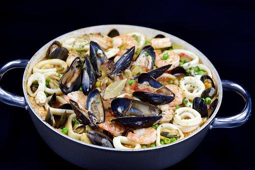 Paella, Jambalaya, Shrimp, Rice, Creole Cuisine