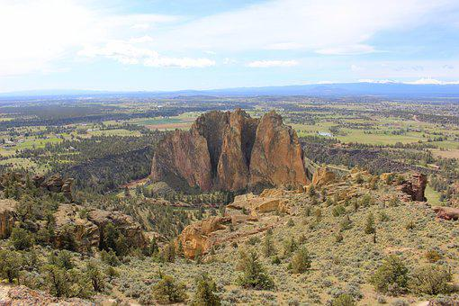 Smith Rock, Eastern Oregon, Trail, Hiking, Landscape
