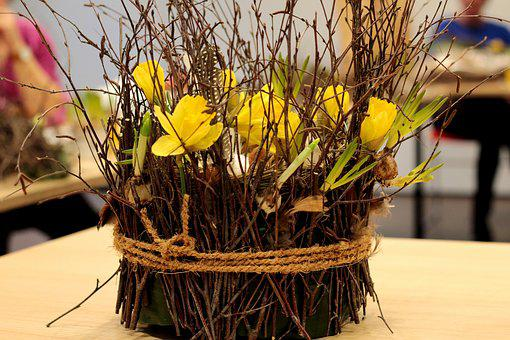 Paasstuk, Easter, Flower Arranging, Spring Flower