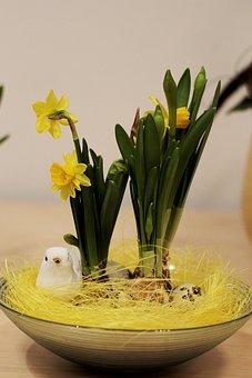 Paasstuk, Easter, Flower Arranging, Flower