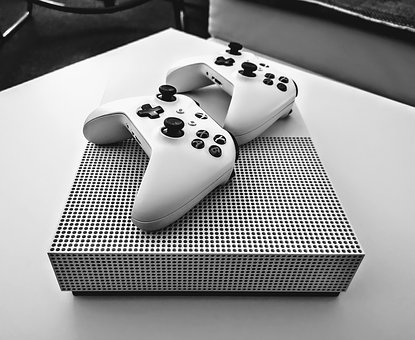 Xbox, Game Console, Games, Console