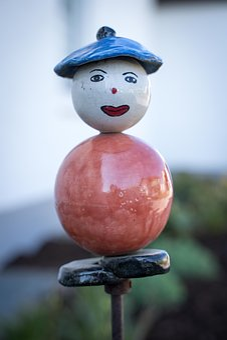 Figure, Stone Figure, Decoration, Garden, Ornament