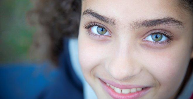 Eyes, Smile, Teenager, Joy, Health, Captivating, Youth