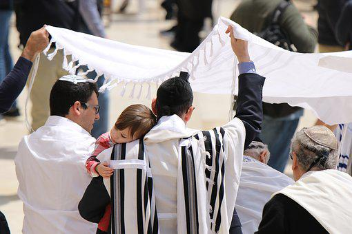 Judaism, Ceremony, Tallit, Tradition, Religion, Faith