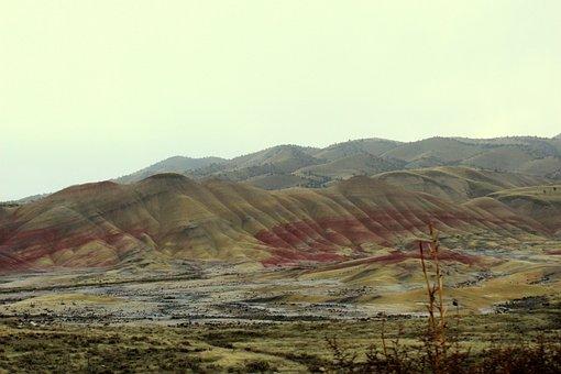 Painted Hills, Landscape, Eastern Oregon, John Day