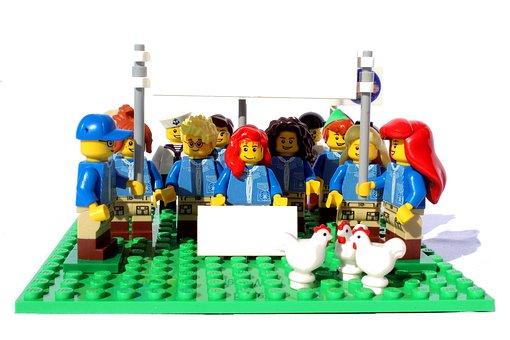 Lego, Mini Figures, Friday For The Future, Show Me