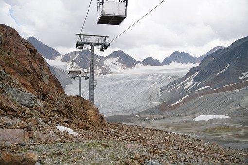 Mountains, View, Landscape, Pitztal, Hiking, Travel
