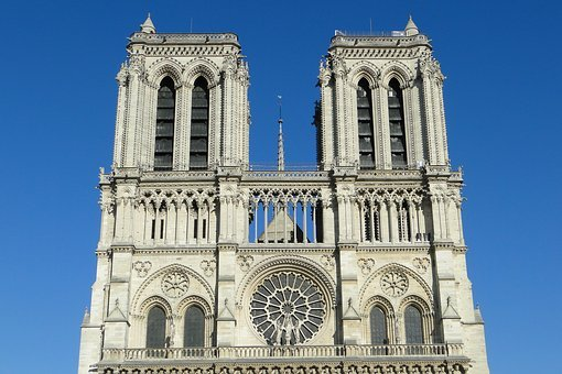 France, Paris, Church, Notre-dame, Cathedral, Building