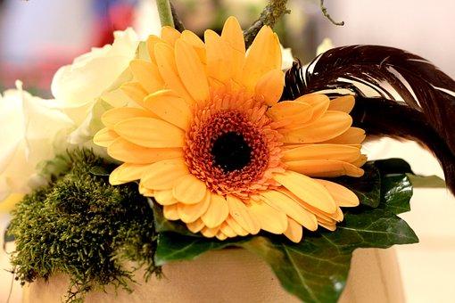 Paasstuk, Happy Easter, Flower Arranging, Moss, Easter