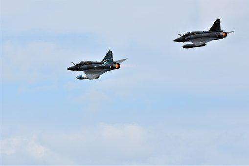 Fighter Aircraft, Mirage, Military, Aviation, Reactors