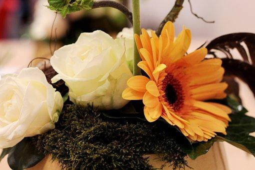 Paasstuk, Easter, Flower Arranging, Flower, Romantic