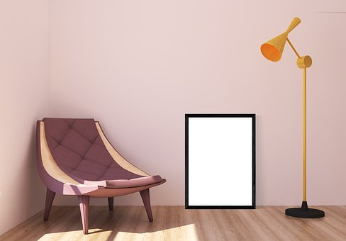 Interior, Chair, Frame, Poster, Lamp, Room, Furniture