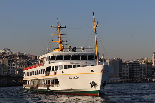 V, Ship, Marine, Transportation, Boat, Istanbul, Water