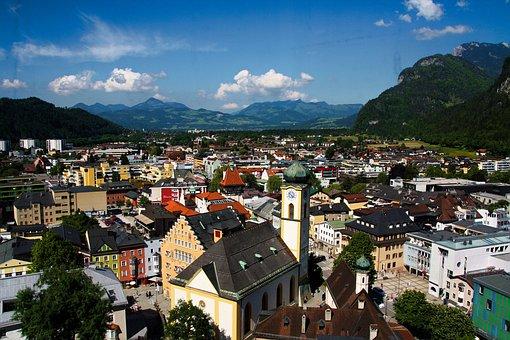 Kufstein, Tyrol, Alpine, Austria, Mountains