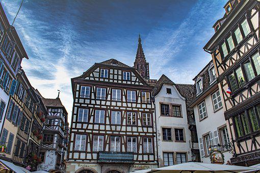 Strasbourg, France, Architecture, Building, Cathedral