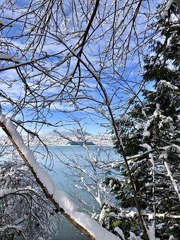 Canada, Port Moody, Bc, Burrard Inlet, Shoreline Park