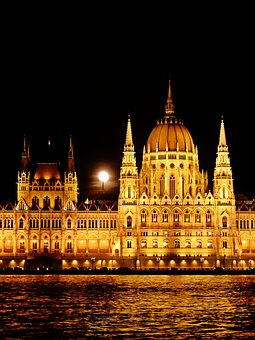 Budapest, Hungary, The Parliament, Building