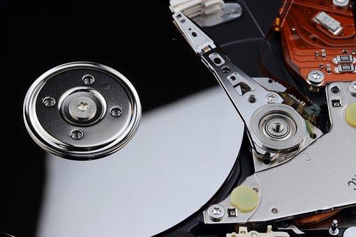Hard Disk, Computer, Disk, Storage, Hardware, Capacity