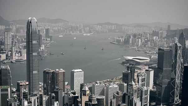 Asia, China, Architecture, City, Skyline, Metropolis