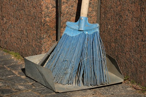 Broom, Cleaning, Clean, Sweep, Brush, Dirty, Domestic
