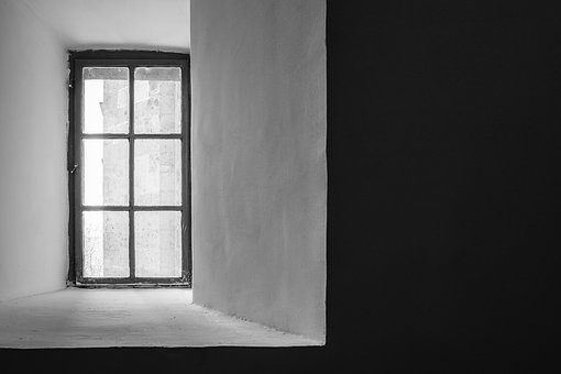 Black And White, Greyscale, Monochrome, Window