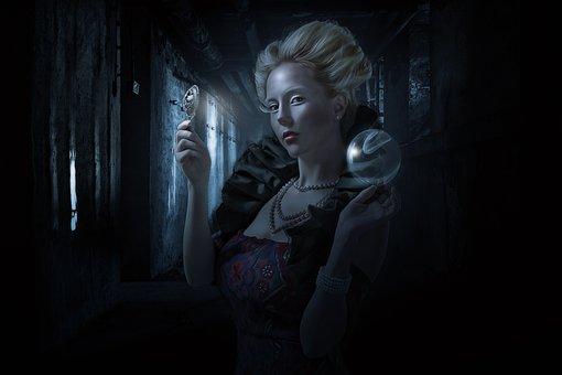 Fantasy, Gothic, Goth, Dark, Magic, Magic Mirror