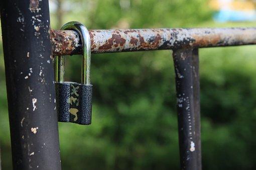 Lock, Old, Metal, Rusty, Antique, Security, Safe, Rust